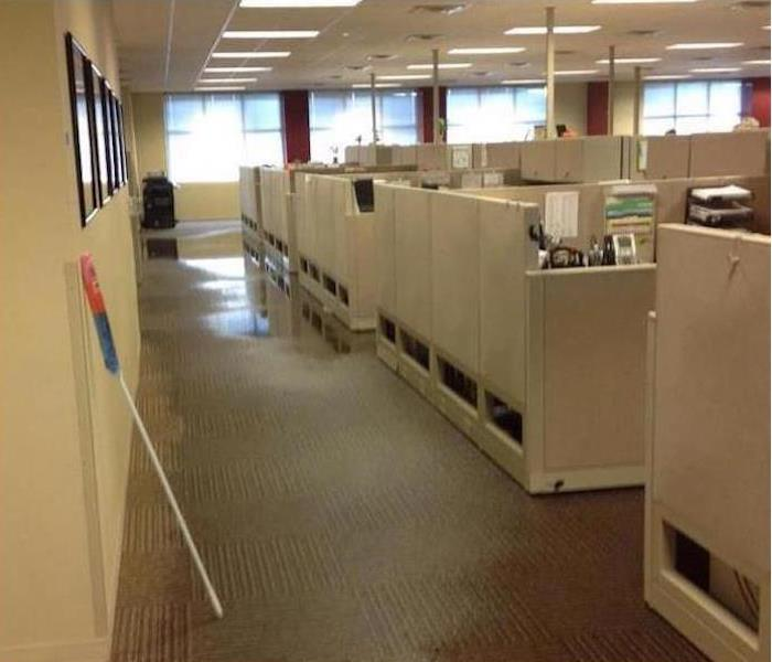 Commercial Water Damage – Acworth Office Building After
